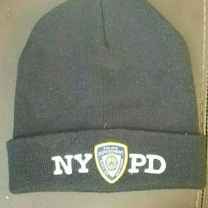 Accessories - NYPD Beanie Hat Winter Authentic 1b597fa0846